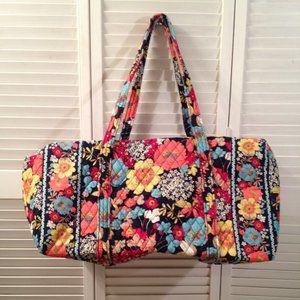 Vera Bradley NEW Happy Snails Large Duffel Bag